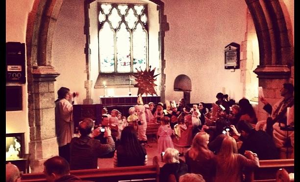 Fledgelings Nativity #stjames #finchampstead