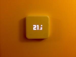 tadoº Thermostat Showing Temperature