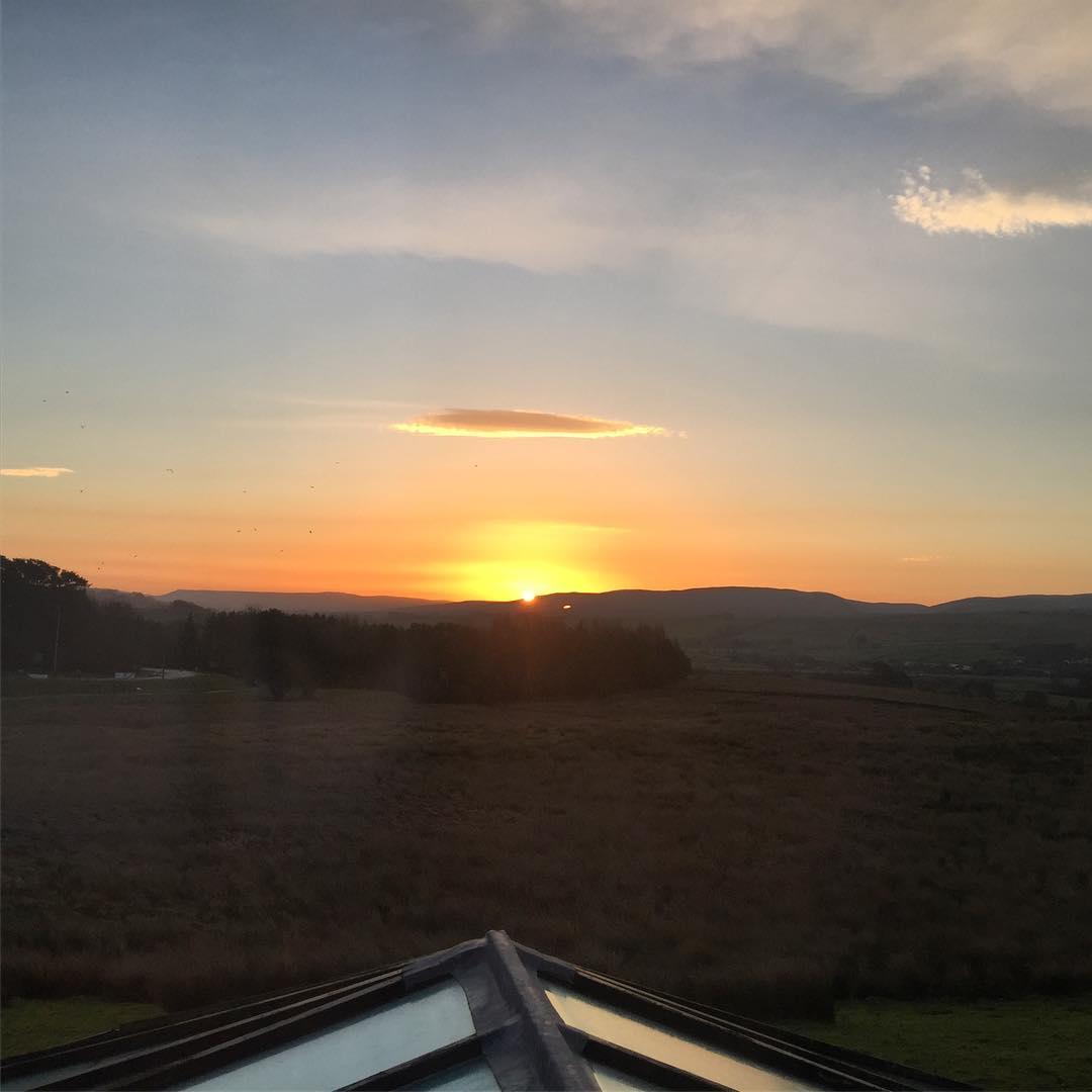 Sunrise on the M6